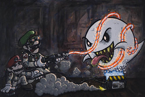 mariobusters - some epic videogame pics.