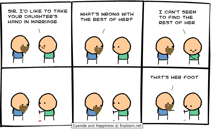 marriage - 50 more cyanide & happiness comic's
