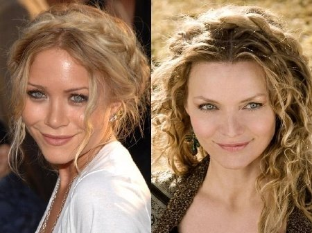 mary kate olsen michelle pfeiffer nuotr widbox com