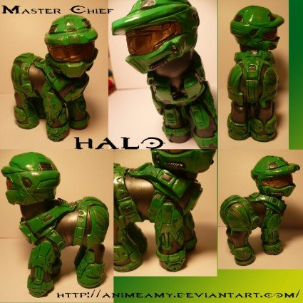 master chief from halo animeamy