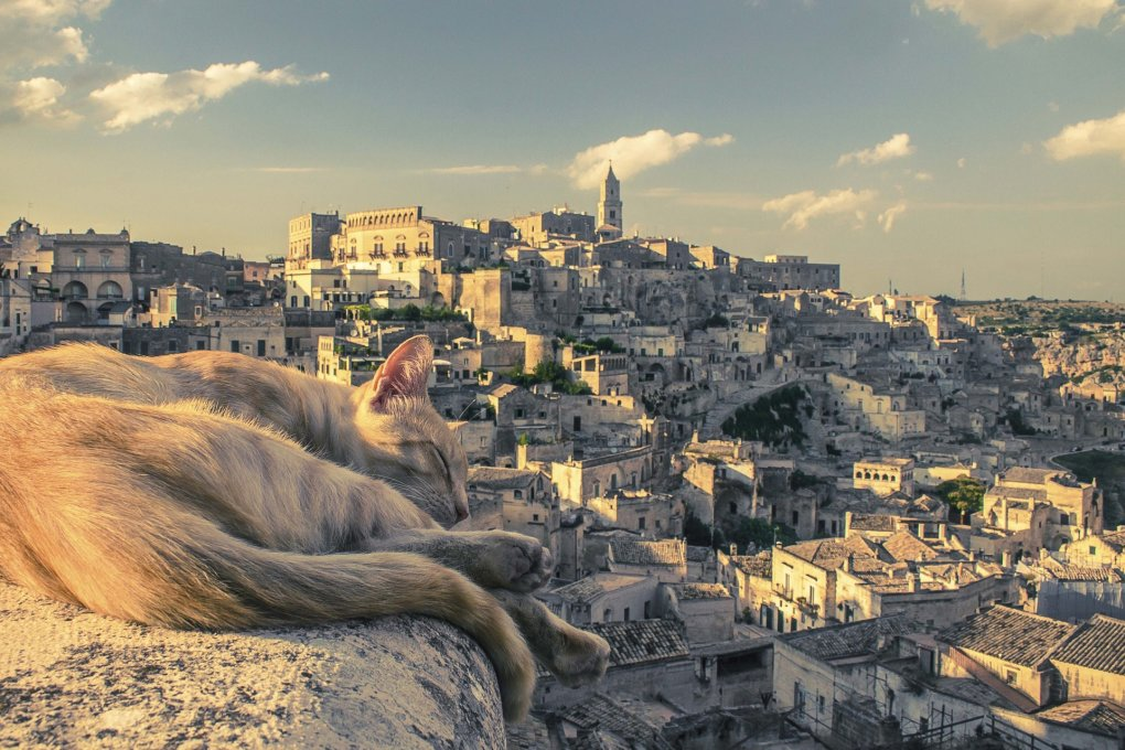 matera - perfect pictures which are sure to leave you feeling positive