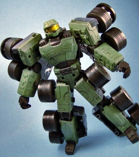 mc transformer 1 - master chief