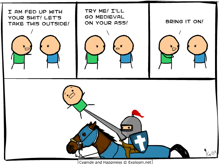 medieval - cyanide & happiness pt 2