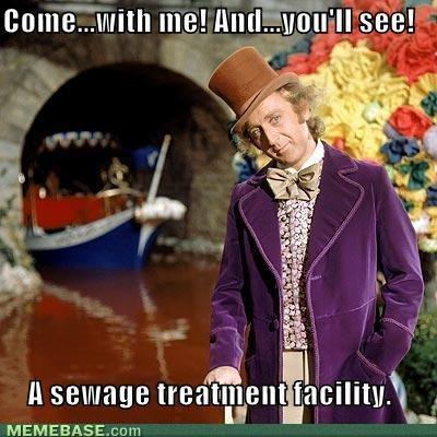 memes come youll see sewage treatment facility