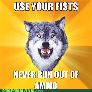 memes courage wolf