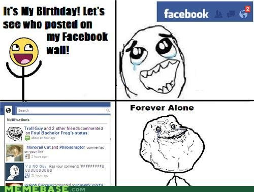 memes forever alone birthday edition