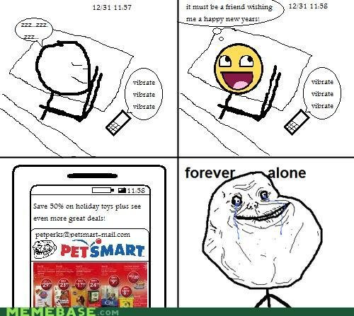 memes forever alone happy years