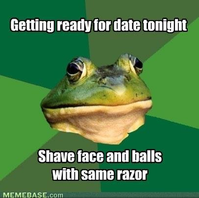 memes getting ready for date tonight