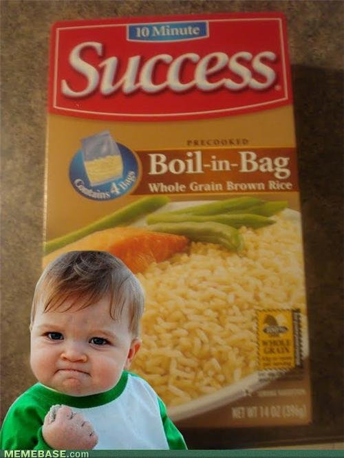 memes instant success add water