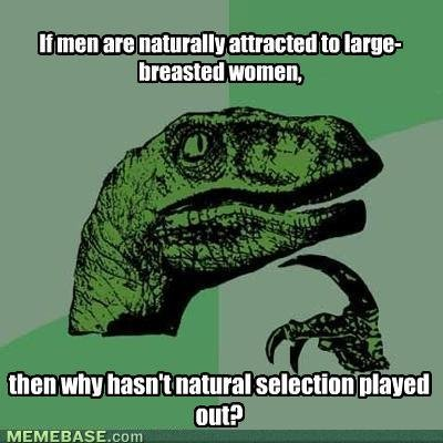 memes men are naturally attracted large breasted women