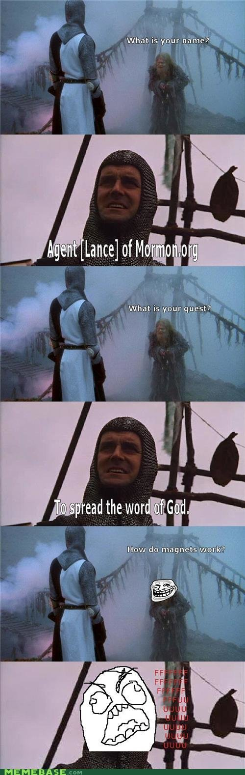 memes monty python quest for trolly grail