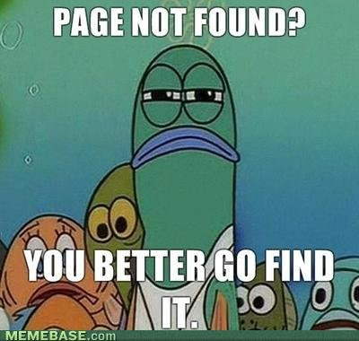 memes page not found