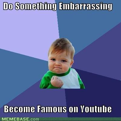 memes something embarrassing become famous youtube