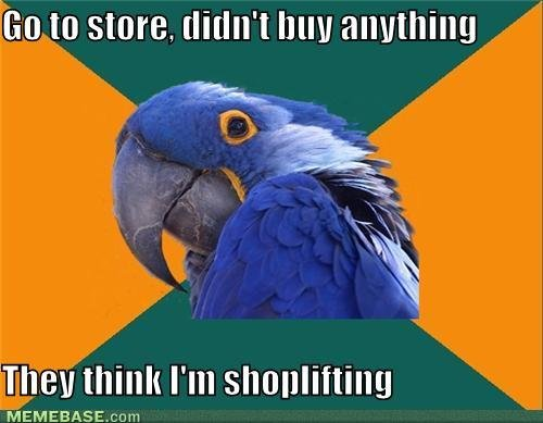 memes store didnt buy anything they think shoplifting