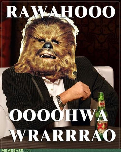 memes most chewbacca