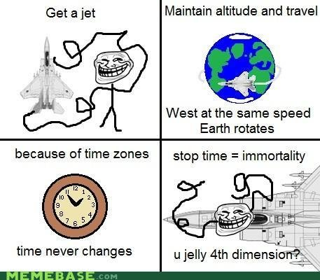 memes troll physics father time disappoint