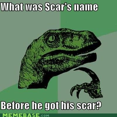 memes what scars name before got his scar
