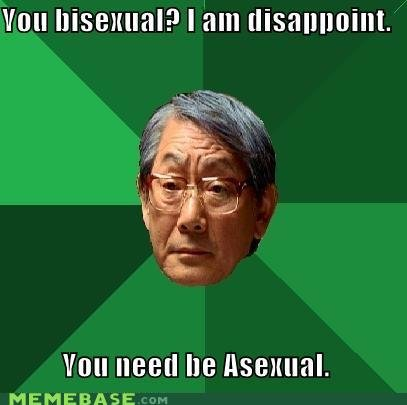 memes bisexual disappoint need asexual