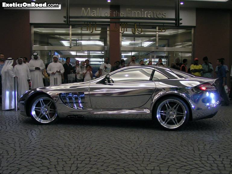 merc 3 - white gold mercedes