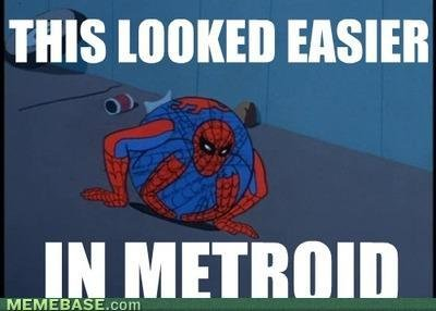 metroid - spider-man meme