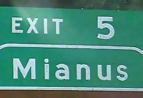 mianus - funny place names