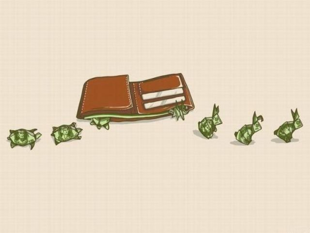 money metaphor