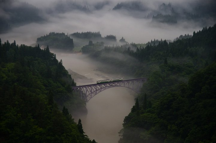 morning train teruo araya