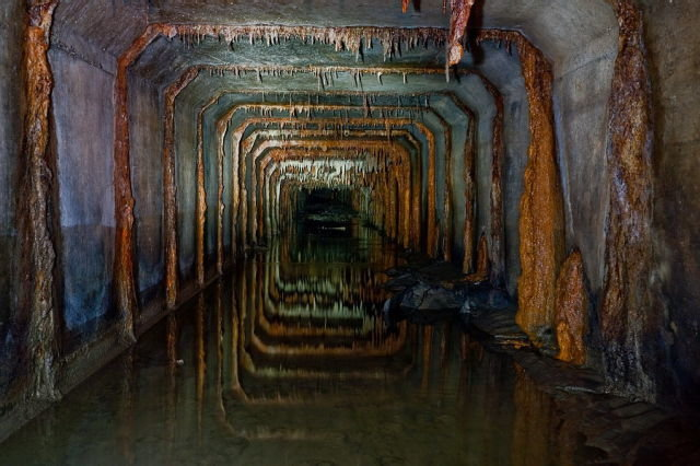 moscow sewerage seen