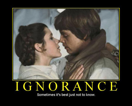 motivational poster ignorance best small