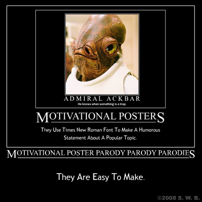 motivational poster parody parody parodies
