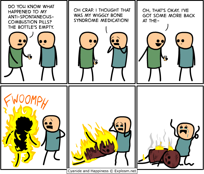 mymeds - cyanide and happiness collection three