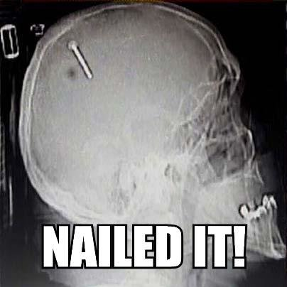 nailed it - wow you nailed it!