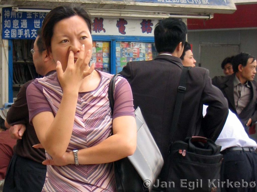 nanjing nose picking