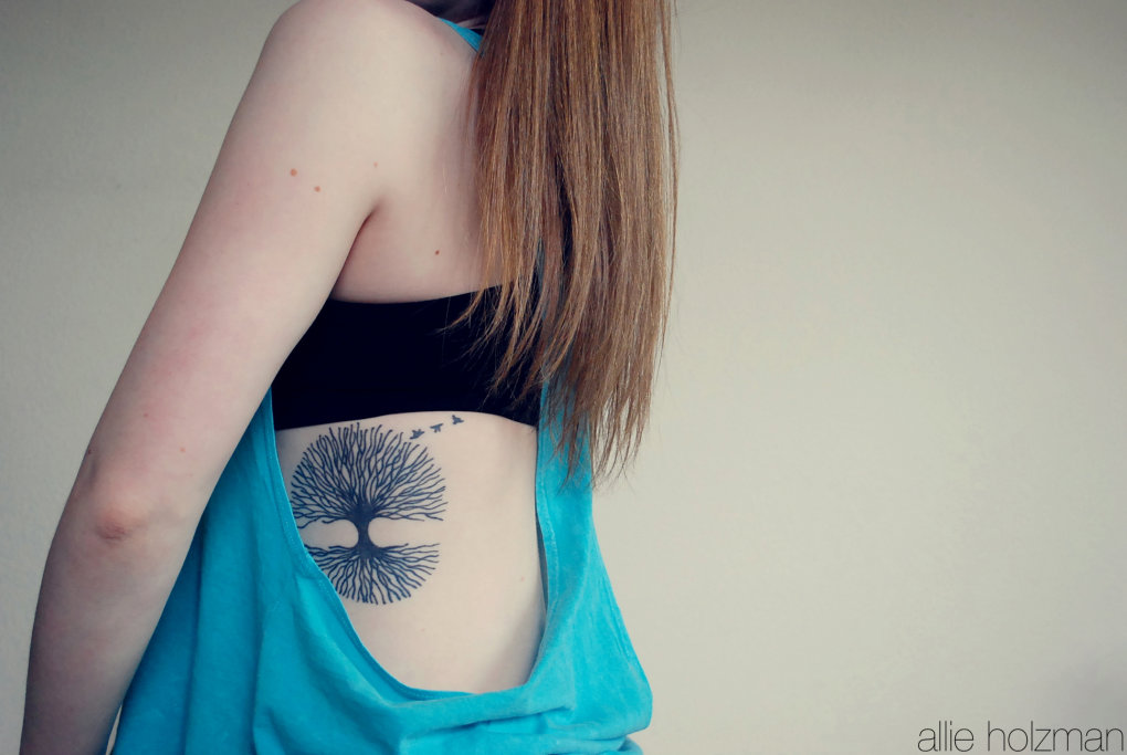 nature tattoos for women