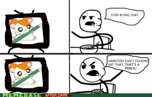 naughty memes cereal guy concerned for hampsters