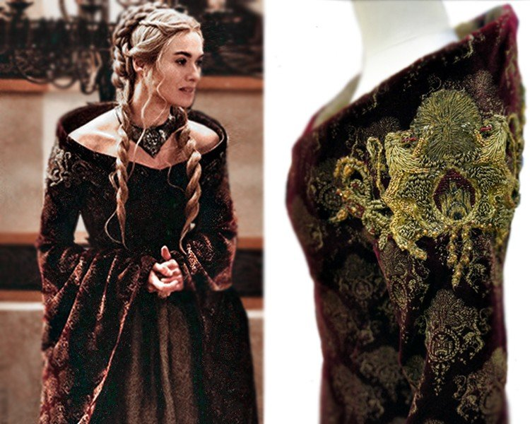 never noticed incredibly detailed costumes are game thrones