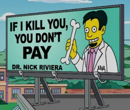 nextdayflyers - funny signs from the simpsons