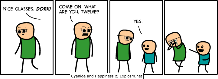 niceglasses - 50 more cyanide & happiness comic's
