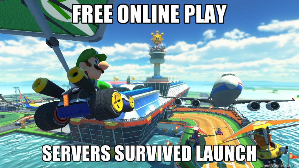 nintendo does online right