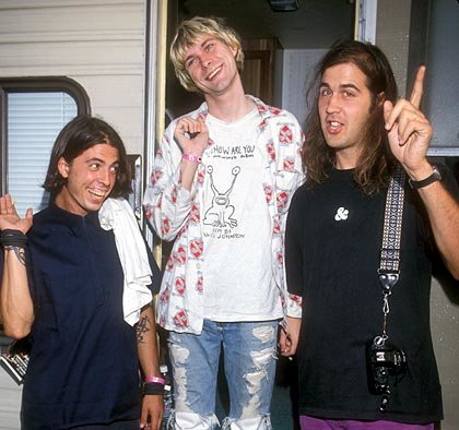 nirvana weird face