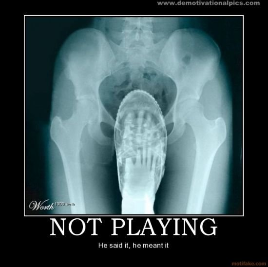 normal not playing funny demotivational poster