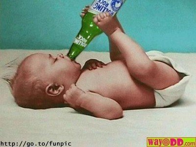 normal pictures does your baby drink beer kr