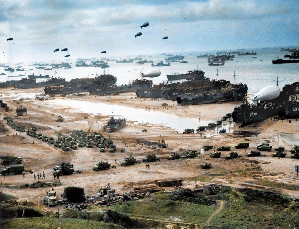 normandy after victory