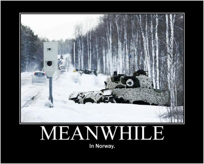 norway - meanwhile in...