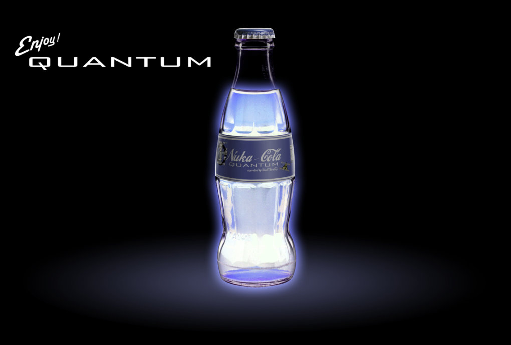 nuka cola quantaum what your favorite wall paper use