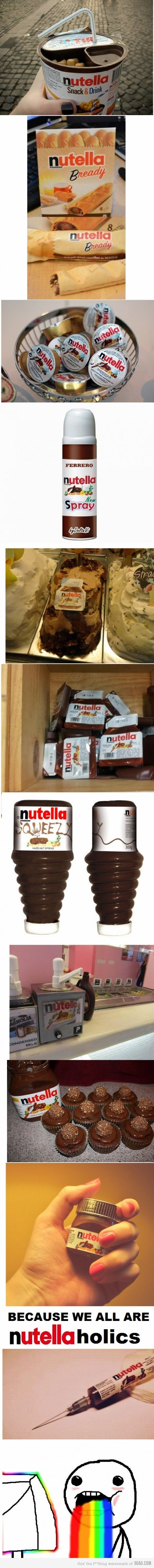 nutella - flash drives, nutella and dragon ball
