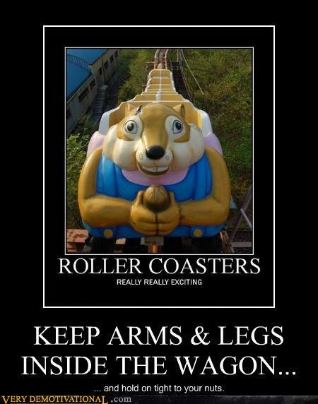 nuts rollercoaster