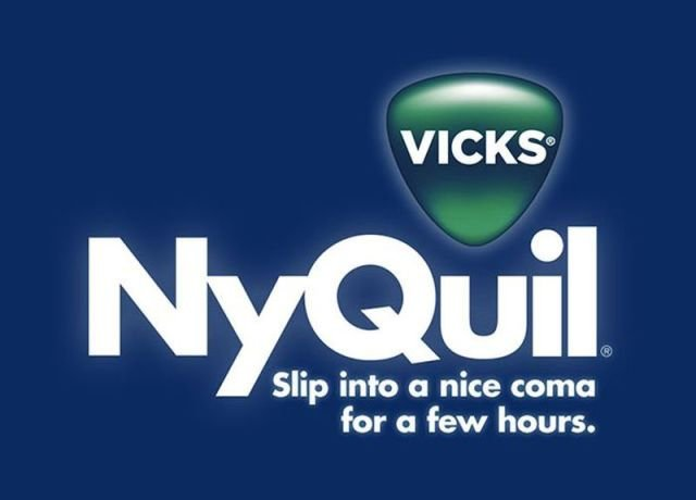 nyquil - if company logos would tell us truth