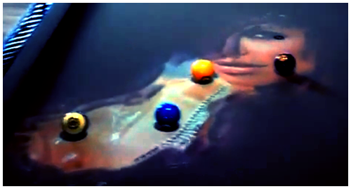 obscura - coolest pool table i've ever seen!