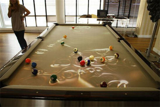 obscura pool table effects